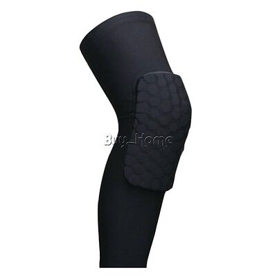 Elastic Leg Knee Pads Wrap Protector Knee Guard For Basketball Skating Sport Gym