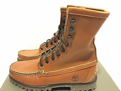 TIMBERLAND AUTHENTIC 7 Eye Chukka Brown Boots Men's Classic