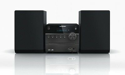 Blaupunkt MS8BK Radio CD USB MP3 Stereo System Home micro System Audio