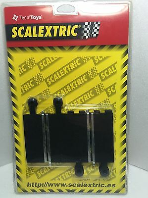 Scalextric SCX 8404 Recta 87 mm 2 X slot car TecniToys
