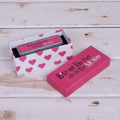 The Bright Side ~ Lipstick Case/Holder ~ 'KISS ME LIKE THEY DO IN THE MOVIES'