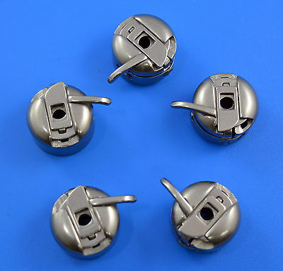 5 Bobbin Case For Domestic Sewing Machine Brother Toyota Janome Singer & More
