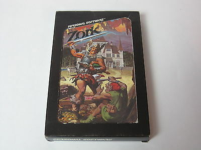 Apple II Game Original  BOXED VERSION Personal Software ZORK EXTREAMLY RARE