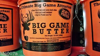 Big Game Butter. The Ultimate Big Game Deer Attractant. NEW Persimmon Flavor