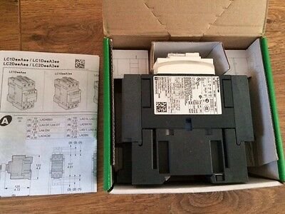 Telemecanique Schneider LC1D50AP7 CONTACTOR 50A 230V AC 1 N/O + 1 N/C Contacts -