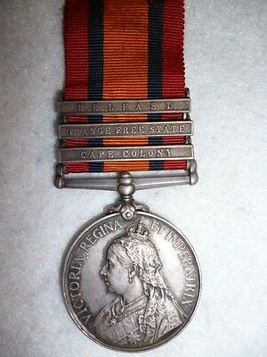 Queen's South Africa Medal 1899-1902, to The Royal Scots Regiment - Donaldson
