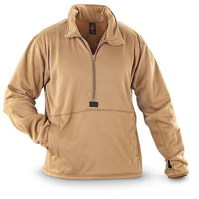 New USMC Military LEVEL II Grid Fleece Polartec MCWCS Shirt Jacket Pullover CIF
