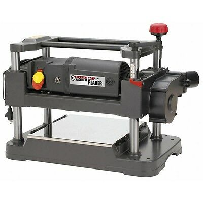 "NEW! 2-1/2 HP 12"" Planer with Dust Collection woodworking two blade cutter"