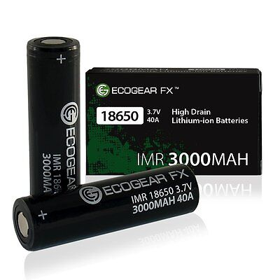 18650 VAPING BATTERIES: IMR 3000mAh High Drain Flat Top Rechargeable  Lithium-ion
