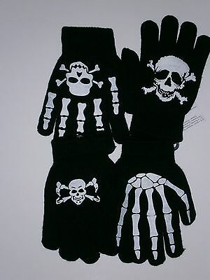 Childrens Spooky Gloves