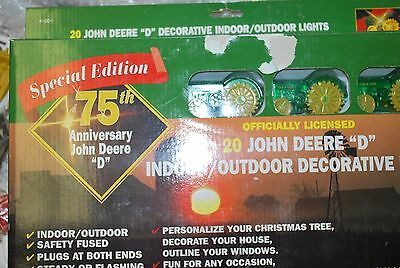 John Deere Outdoor Lighting: John Deere model D tractor decorative indoor outdoor lights christmas set,Lighting