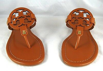 fc1ce19eb4c59e TORY BURCH MILLER Veg Brown Leather Thong Sandal 5 to 11 -  192.98 ...