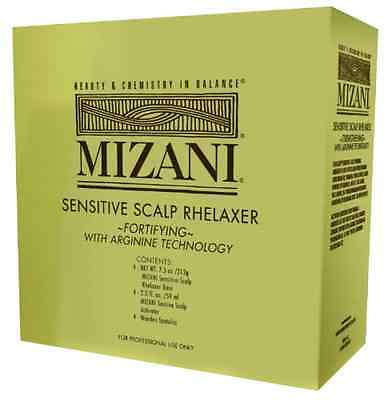 Sensitive Scalp Relaxer Mizani Fortifying Condition With Amino Acid Pack of 10