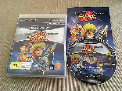 The Jak and Daxter Trilogy (Sony PlayStation 3, 2012) AUS PAL Complete