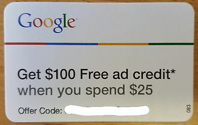 Google Adwords $100 Advertising Credit & PPC Mngmt, US/ CANADA - Fast Delivery
