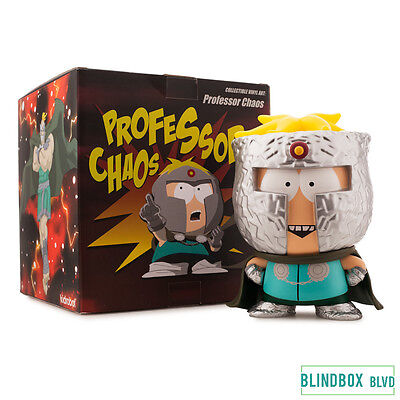 Professor Chaos Medium Figure - Fractured But Whole (South Park x Kidrobot) 7""