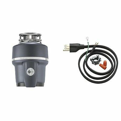 InSinkErator Evolution Compact 3/4 HP Household Garbage Disposer and Power Cord