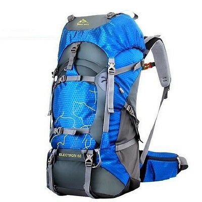 60L Sport Bags Outdoor Climbing Bags  Travel Hiking Camping Backpack