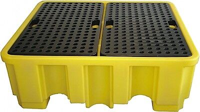 4 Drum Spill Pallet -BP4 485 litre Capacity 480mm High