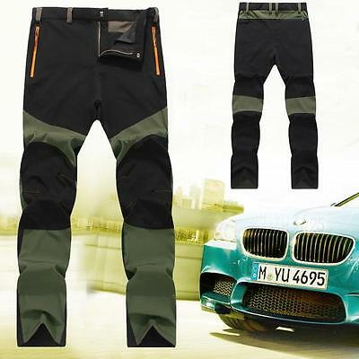 Newest Men's Outdoor Sports Snowboard Pants Waterproof Hiking Trousers Thin