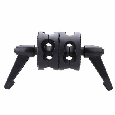 Phot-R Double Dual Grip Swivel Head Bracket for Studio Boom Arm Reflector Holder