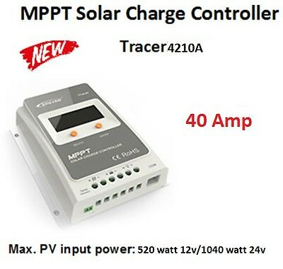 EPever-Tracer-A-40A-MPPT-4210A-solar-charge-controller-panel-regulateur-solaire