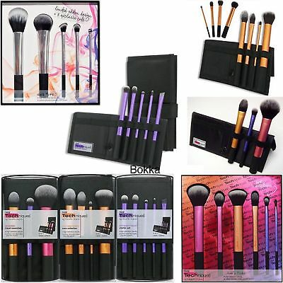 2017 Top Real Techniques Makeup Core Collection/Starter/Travel/Sculpting 3 Set