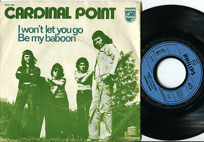 CARDINAL POINT - Be My Baboon / I Won't Let You Go 45 Dutch 1972 GLAM ROCK PS