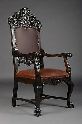 B-125 Ostentatious Neo Renaissance Chair around 1850/70