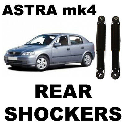 VAUXHALL ASTRA G MK4 REAR GAS SHOCK ABSORBERS x 2 (PAIR) 1998-2004