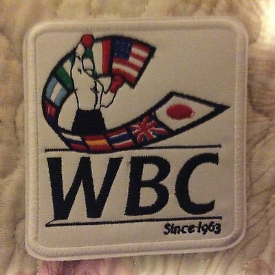 Patch Badge Wbc - World Boxing Council - Boxe