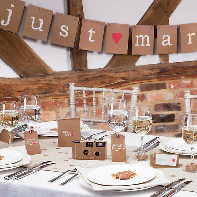 Rustic Wedding Tableware (Cups, Plates, Napkins) Decorations, Card Box, Invites
