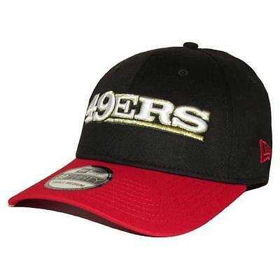 San Francisco 49ers NFL 39Thirty Word Touch Baseball Cap By New Era S-M
