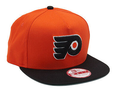 Philadelphia Flyers New Era 9FIFTY Adjustable A-Frame Snapback Baseball Cap M-L