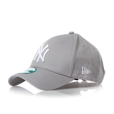 New York Yankees New Era 39Thirty Stretch-Fit Baseball Cap Grey/White  S-M