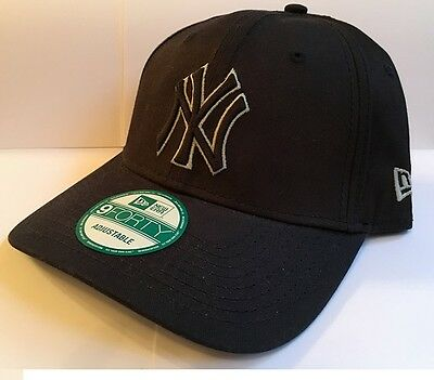 New York Yankees Simply Prime New Era 9forty Adjustable Baseball Cap Navy