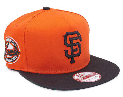 San Francisco Giants New Era 9FIFTY Adjustable A-Frame Snapback Baseball Cap S-M