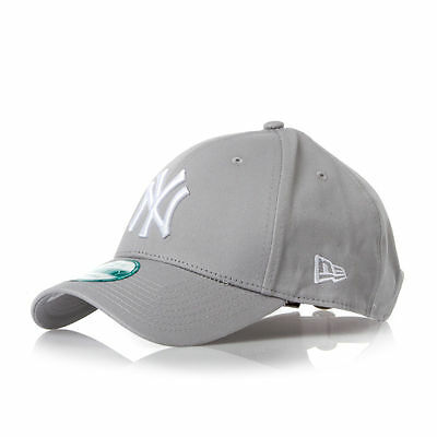 New York Yankees New Era 39Thirty Stretch-Fit Baseball Cap Grey/White  M-L