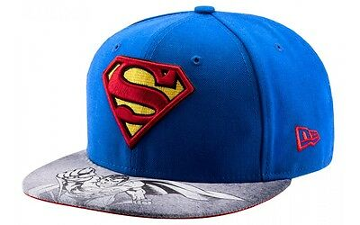 Superman Viza Sketch 59Fifty New Era Fitted Baseball Cap Size 7 1/8