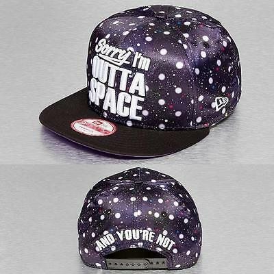 New Era Sorry Im Outta Space Snapback Baseball Cap (Small - Medium)