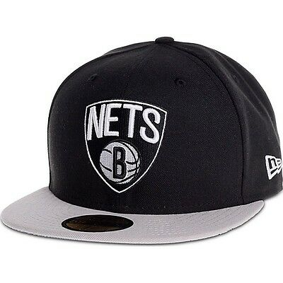 Brooklyn Nets NBA 59Fifty Fitted Team Cap By New Era Size 7 1/4