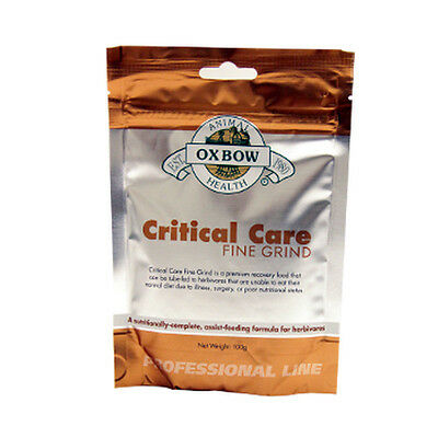 Oxbow Critical Care Fine Grind 100g Bag