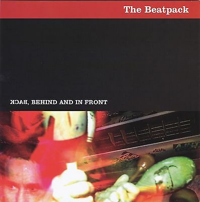 """THE BEATPACK Back Behind & In Front heavy vinyl 7"""" EP NEW garage beat R & B mod"""