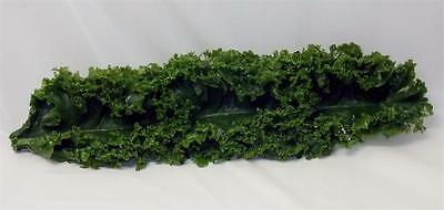 "Plastic Kale Strips For Salad Bar Display. Fake Foods 12"" Replica Kale. 12 Pack."