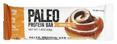 Julian Bakery - Paleo Protein Bar Cinnamon Roll - 2.12 oz.