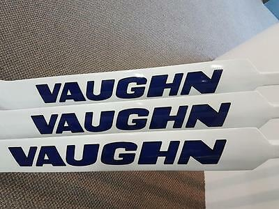 "Vaughn 1100 Goal Stick 27"" White/Blue (3 for 2 sale)"