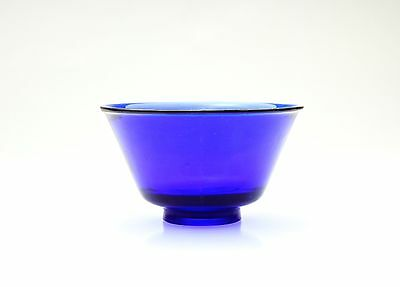 Antique Chinese One Fine Peking Cobalt Blue Bowl - 19th Century