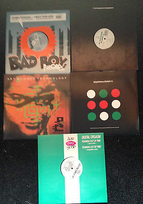 "90s Dance/Rave/Techno 12"" Vinyl x5 (Lot 5)"