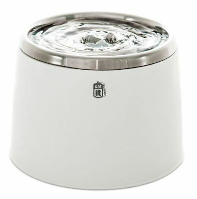 CatIt Senses Pet Cat Drinking Fountain Stainless Steel Fresh & Clear 2L Bowl