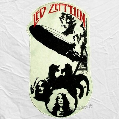 Led Zeppelin Embroidered Big Patch First Album Robert Plant Page Jones for Back